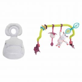 Chicco - Soft Reducer & Toy Bar For Polly Progres5 0m+
