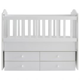 Belis - Bubble Baby Bed 60x120, 0M-4Y - White