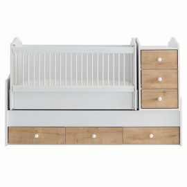 Belis - Eva Baby Bed with Drawers 60x170cm - Mese