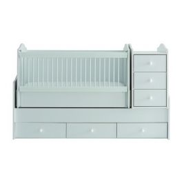 Belis - Eva Baby Bed with Drawers 60x170cm - Beyaz