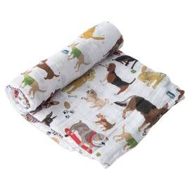 Little Unicorn - Cotton Swaddle - Woof