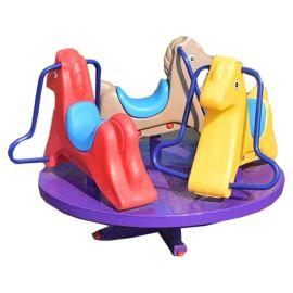 Gambol - Triplet Horseback Merry Go Round Garden Playset